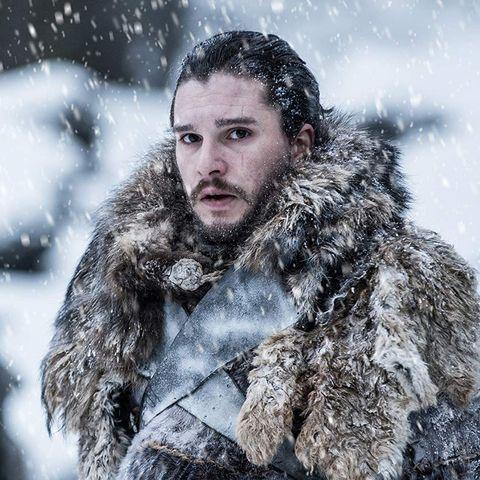 Snow, Beard, Facial hair, Winter storm, Blizzard, Freezing, Winter, Fur, Human, Eye,