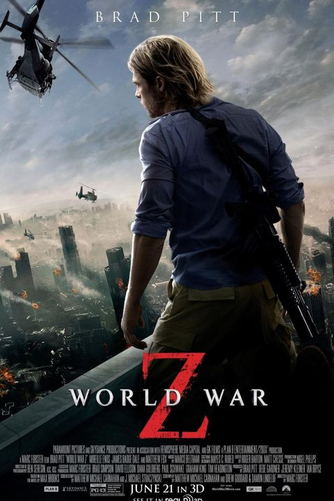 world war z 2013 movie poster