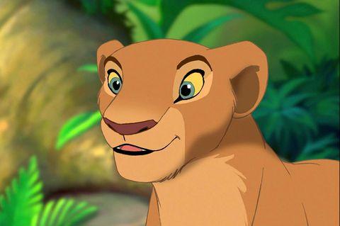 Animated cartoon, Cartoon, Lion, Felidae, Animation, Illustration, Big cats, Wildlife, Jungle, Grass,