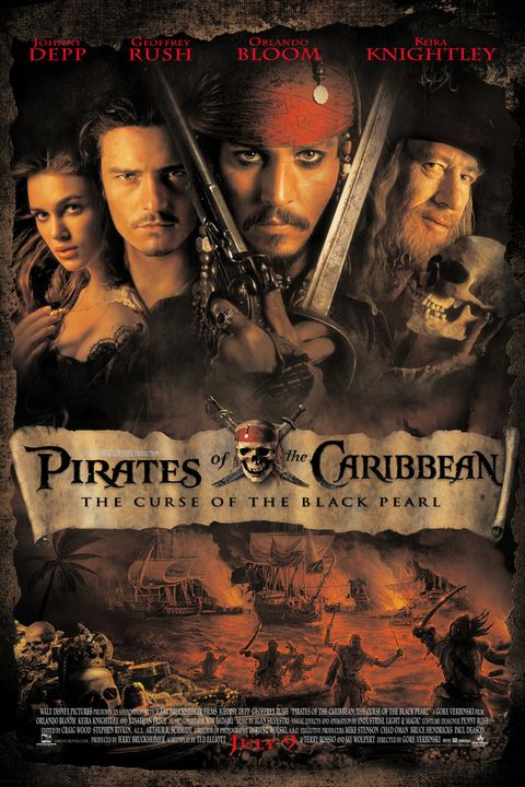 best disney live action movies pirates of the caribbean