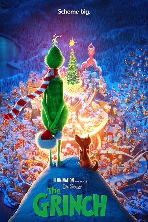 dr seuss' the grinch 2018 movie poster