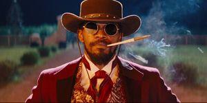 Django Unchained Jamie Foxx Quentin Tarantino
