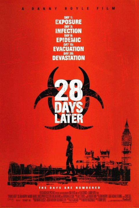 28 days later 2002 movie poster