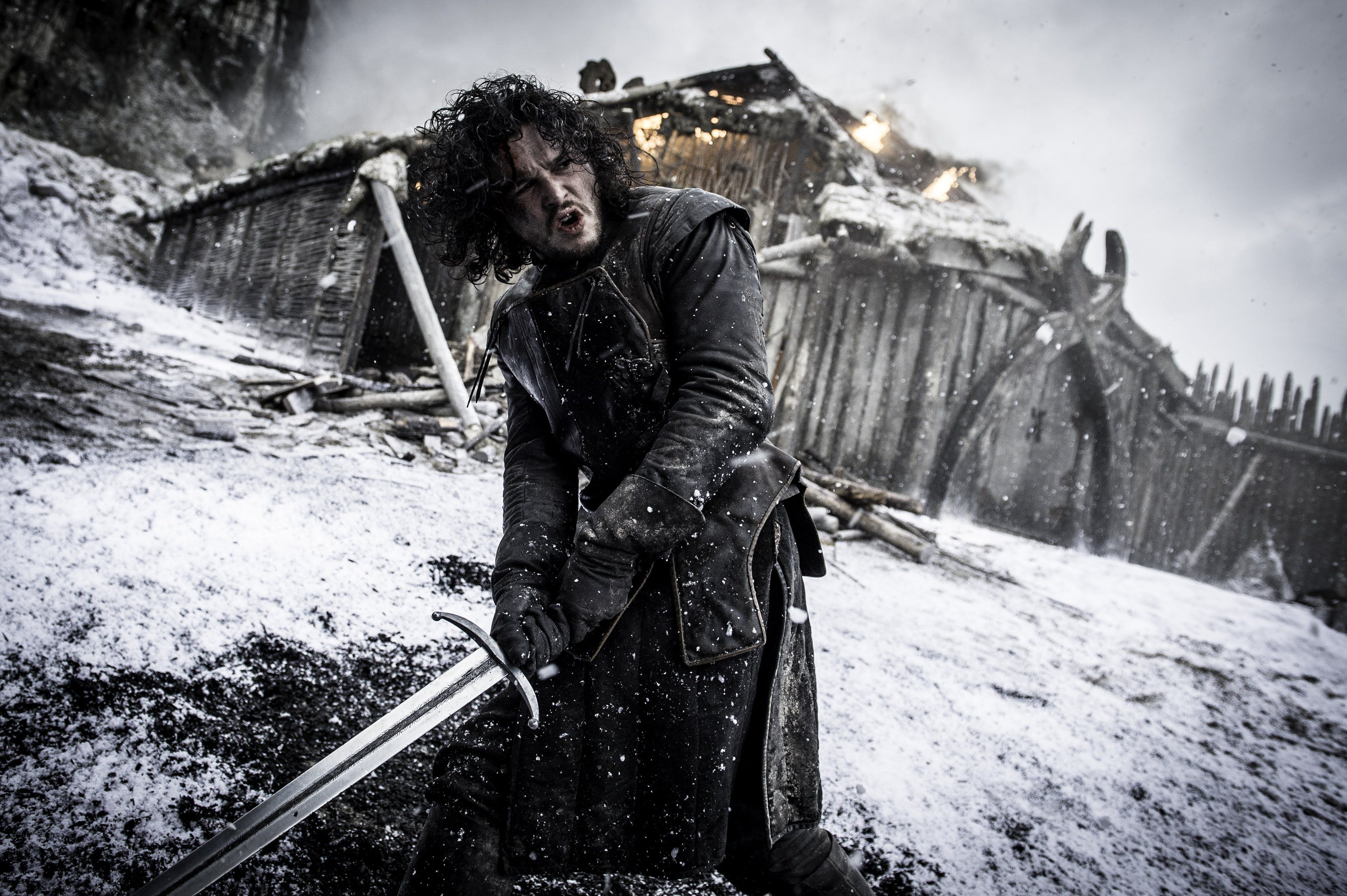 """Kit Harington says director Miguel Sapochnik came onboard at the right time: """"He pushed us to re-investigate our characters—at a point when Thrones could have, and I think many shows do, lapsed into stagnation."""""""