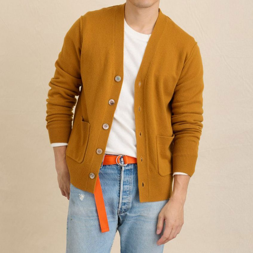 Alex Mill Dropped a Damn-Fine Cardigan Just in Time for Layering Season