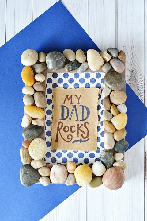 Rock Art  - Father's Day Crafts