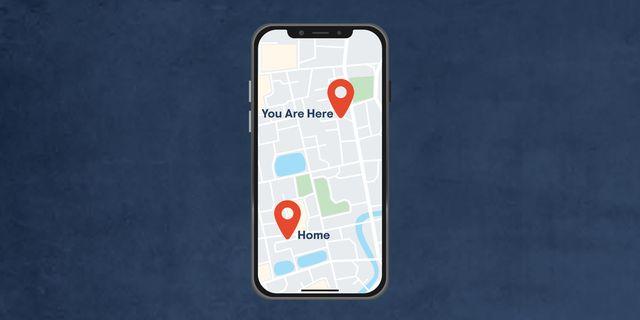 phone gps map
