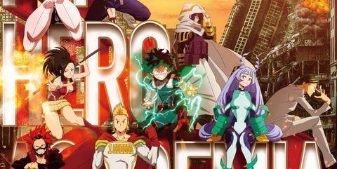 My Hero Academia temporada 4
