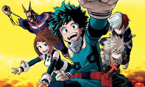 my hero academia top mangas vendidos mejores