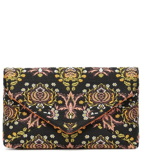Bag, Wallet, Handbag, Pattern, Brown, Fashion accessory, Visual arts, Design, Leather, Coin purse,