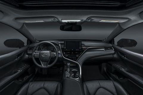 Toyota Camry 2021 салон