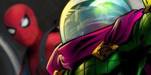 mysterio spider-man lejos de casa far from home