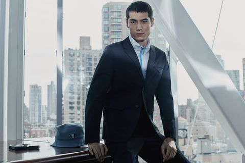 Suit, White-collar worker, Businessperson, Formal wear, Outerwear, Photography, City, Tuxedo, Business, Black hair,