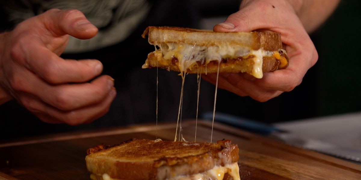 Mythical Kitchen's Best Grilled Cheese Recipe