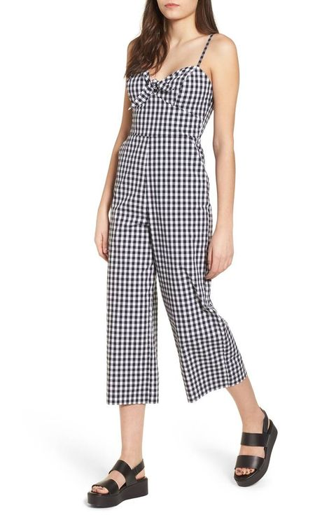 4311ed330c image. courtesy of retailer. For Weekends  SOCIALITE Tie Front Cropped  Jumpsuit