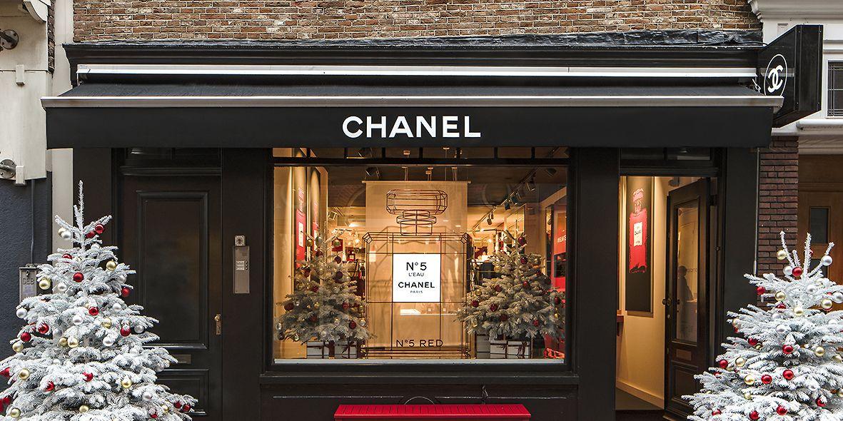 Chanel pop-up winkel in Amsterdam voor Kerst