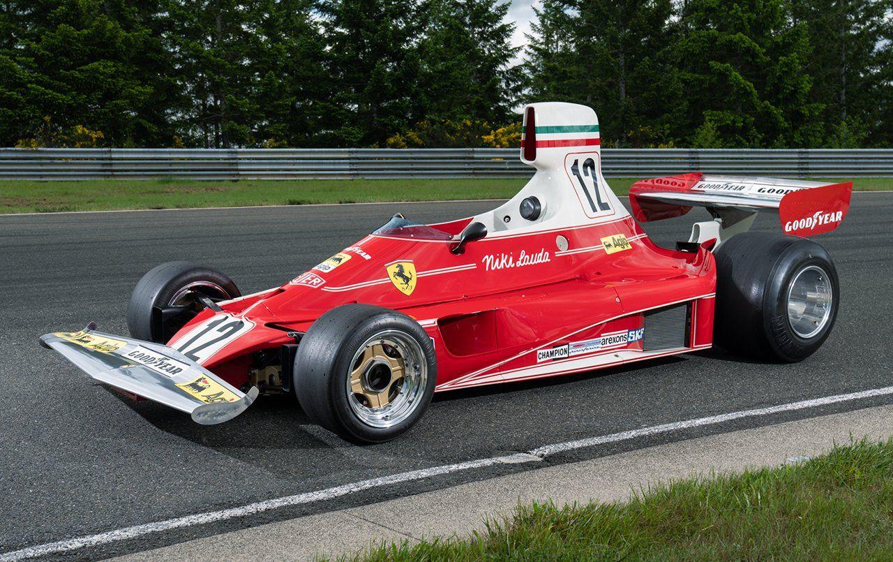 You Can Own Niki Lauda's Championship-Winning Ferrari F1 Car