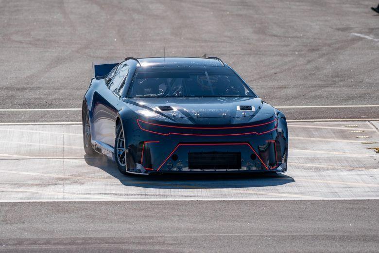 Watch the Next-Gen NASCAR Prototype Shoot Flames in Testing