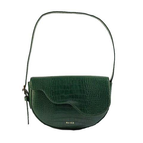 NA-KD kroko leather bag
