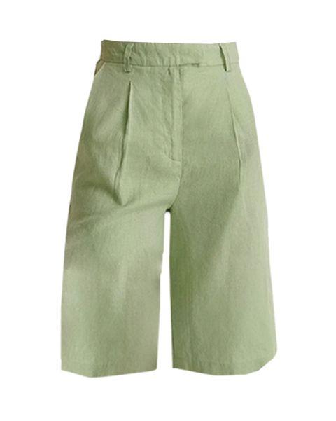 groene bermuda shorts