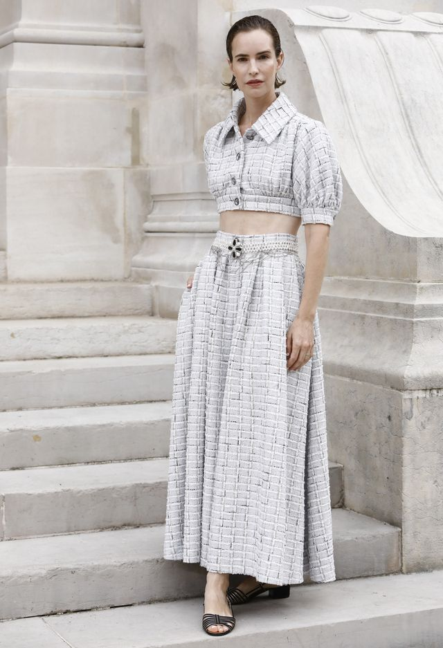 naama preis at chanel couture