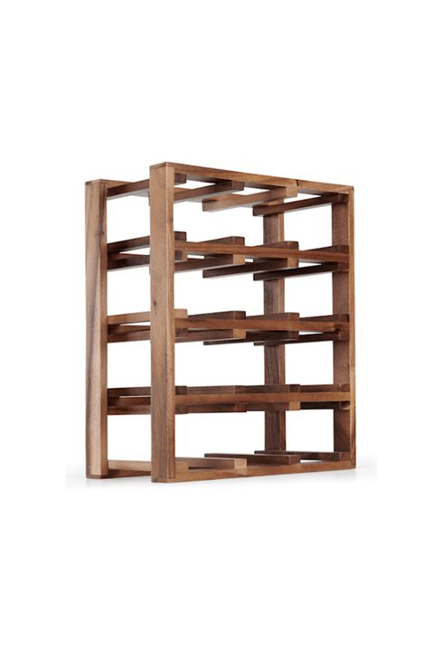 Shelf, Shelving, Furniture, Wood, Brown, Table, Rectangle, Bookcase, Wine rack, Plywood,