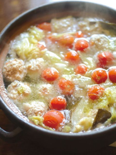 Dish, Food, Cuisine, Ingredient, Produce, Recipe, Wedding soup, Meat, Zosui, Cherry Tomatoes,