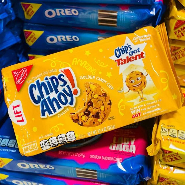 nabisco chips ahoy chip's got talent golden candy chips cookies