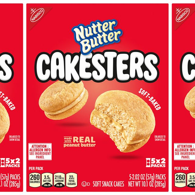 nabisco nutter butter cakesters