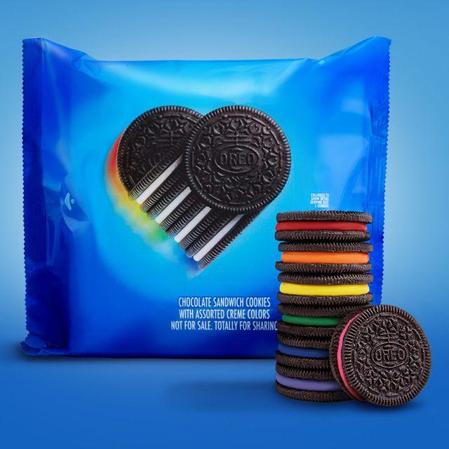 nabisco oreo rainbow pride cookies