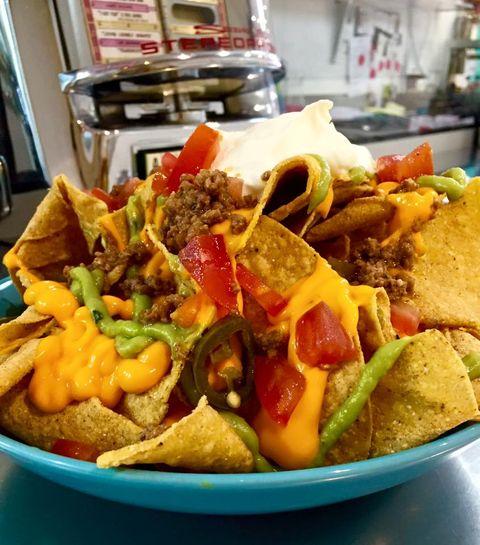 Restaurantes para comer las mejores recetas de nachos mexicanos con queso, guacamole y más