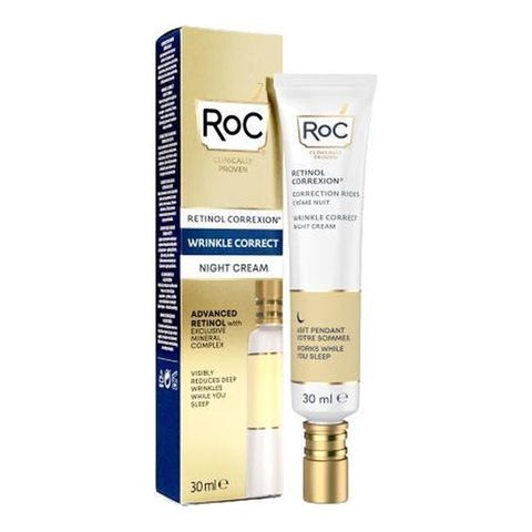 roc  retinol correxion wrinkle correct night cream