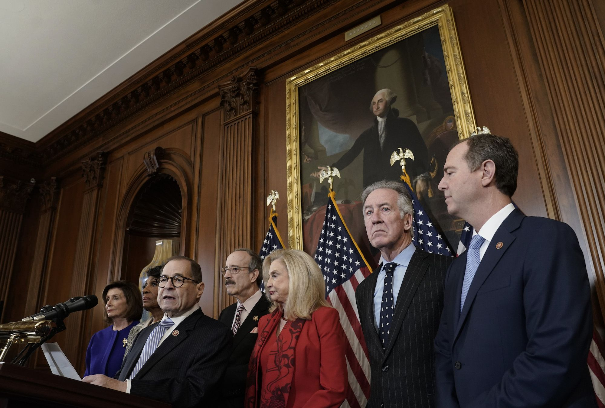 Democrats Announce Articles of Impeachment Against Donald Trump—and in Defense of the Republic