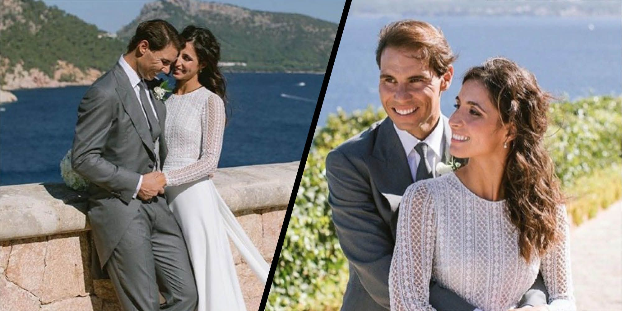 Mery Perello marries Rafa Nadal in two custom-made bridal gowns