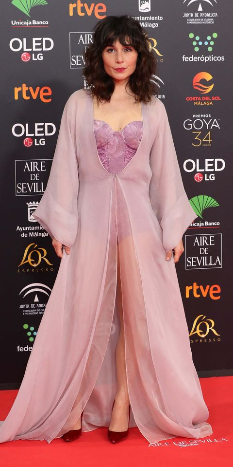 Alfombra roja premios Goya 2020