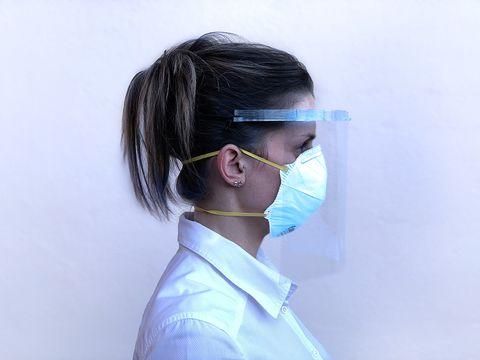 Mascarillas protectoras del COVID-19 impresas en 3D por Nagami Design