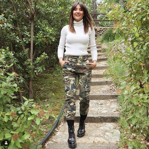 Clothing, Military camouflage, Camouflage, Fashion, Pattern, Footwear, Uniform, Trousers, Cargo pants, Design,