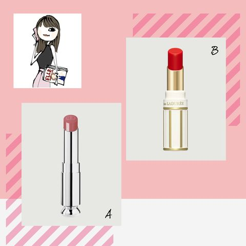 Pink, Product, Lipstick, Material property, Cosmetics, Bottle, Liquid, Lip gloss, Illustration,