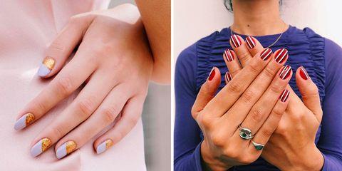 Nail, Manicure, Finger, Nail polish, Nail care, Ring, Hand, Skin, Cosmetics, Engagement ring,