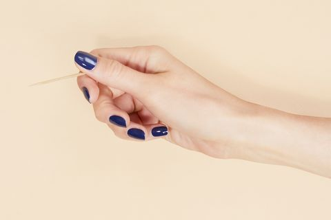 Nail, Finger, Blue, Hand, Skin, Toe, Leg, Foot, Nail polish, Material property,