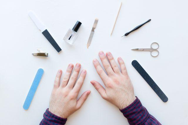 爪やすりおすすめ 男性 ネイル 画像