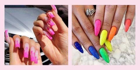 Nail, Nail polish, Manicure, Nail care, Finger, Cosmetics, Hand, Service, Artificial nails, Material property,