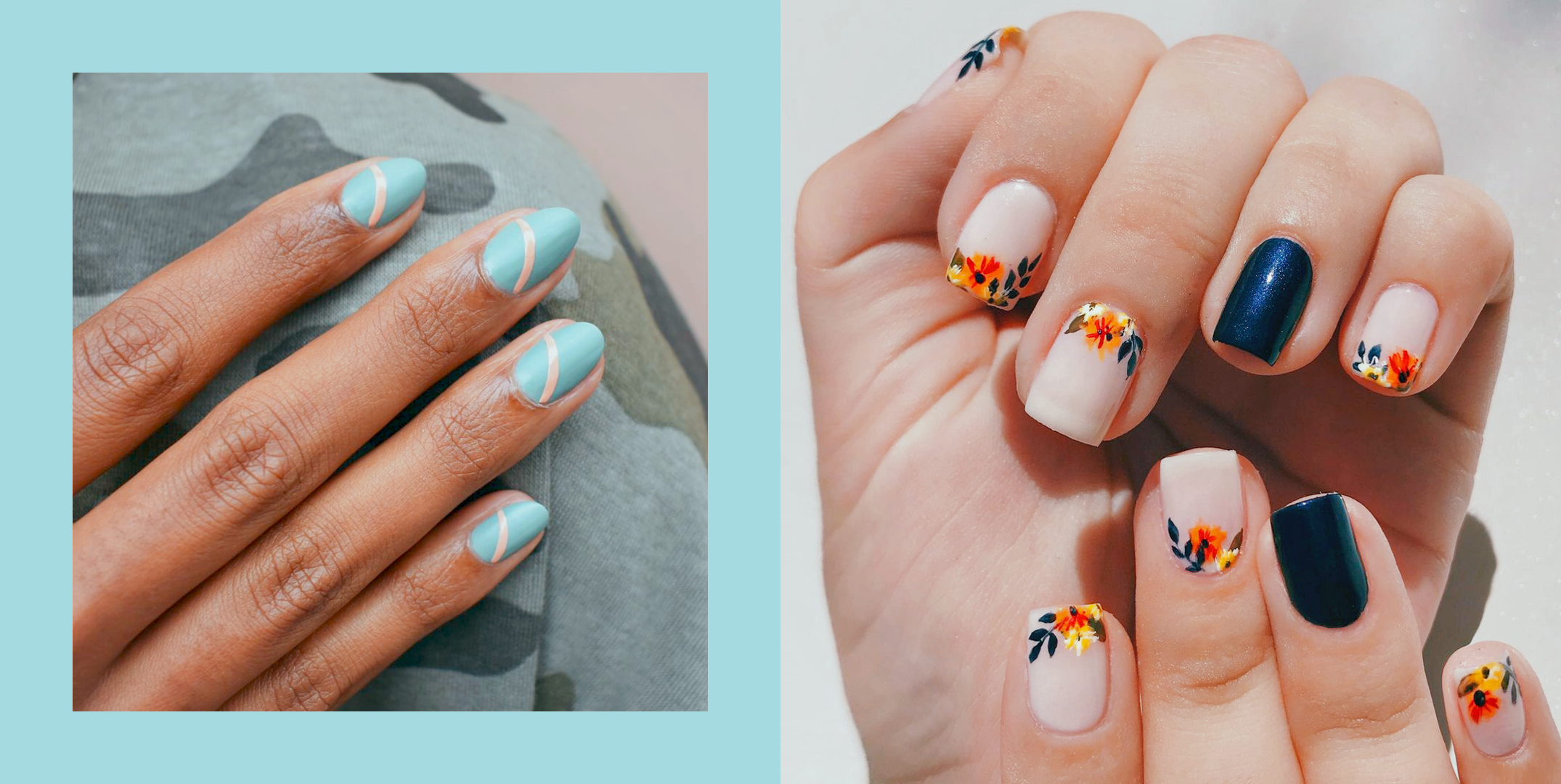 12 Best Nail Shapes of 2021 - What Nail Shape Is Best for Your Hands