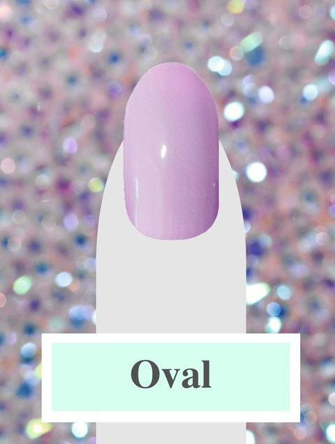 Nail Shapes - Oval