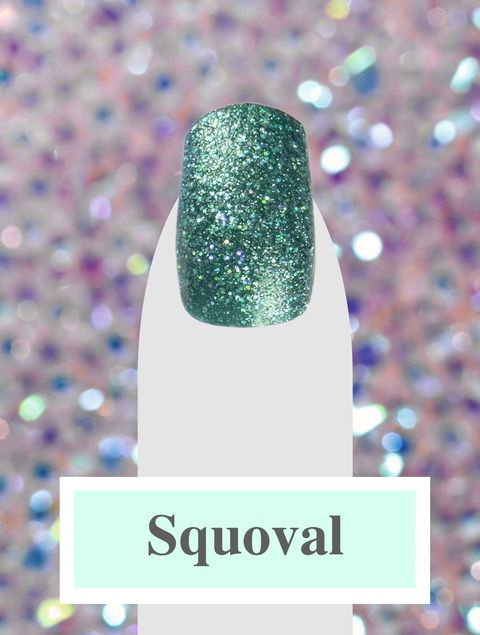 Nail Shapes - Squoval