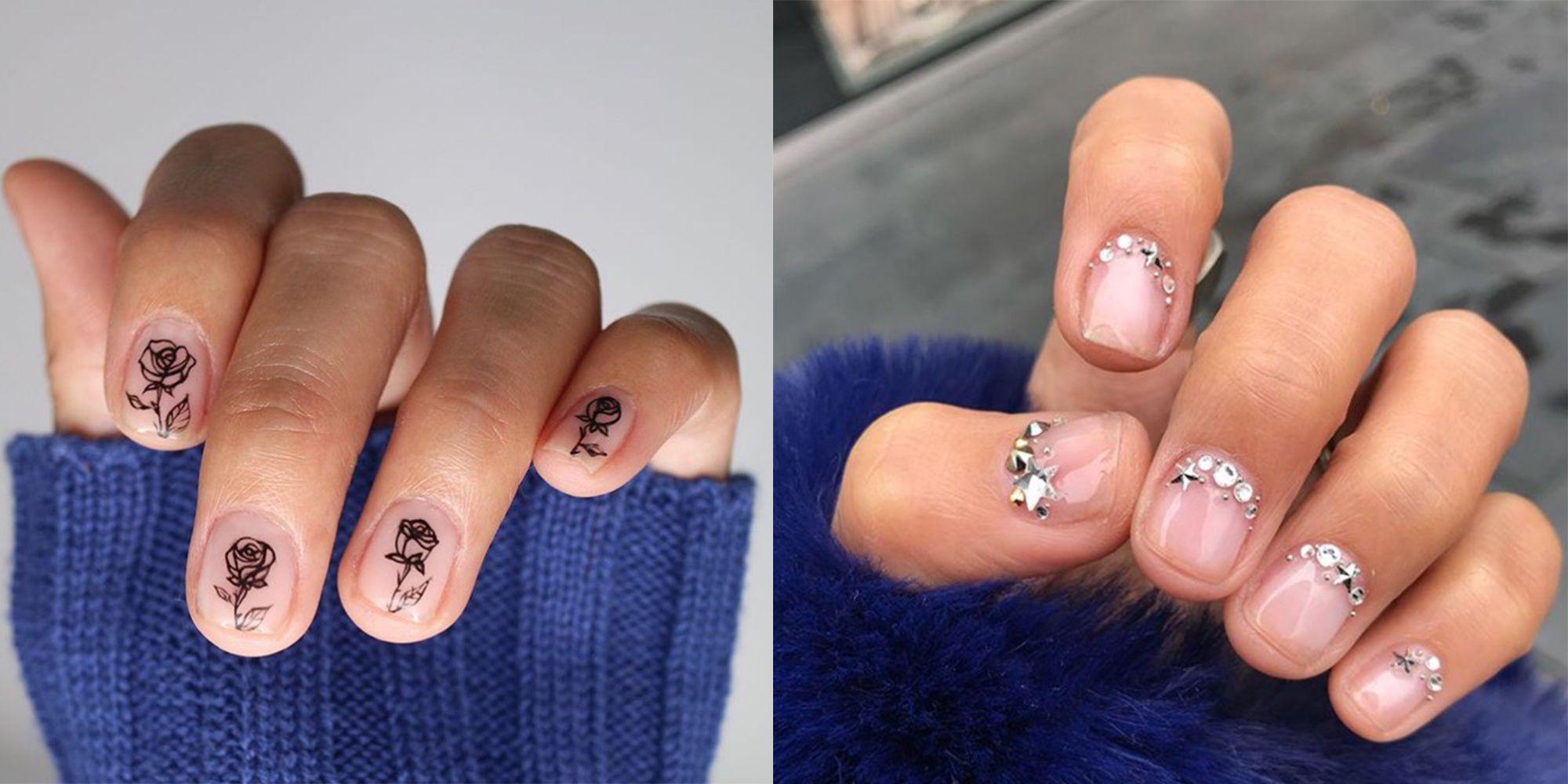 16 Stunning Minimalist Nail Art Ideas To Try