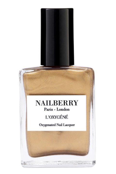 Nailberry gold nail polish