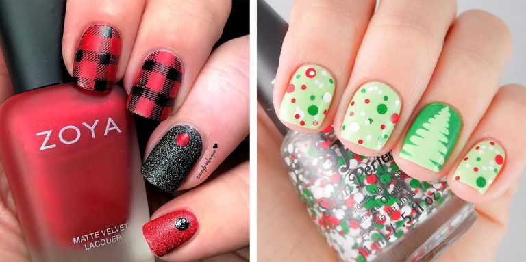 Cool winter nail art winter nail art design ideas the perfect accessory for any holiday look prinsesfo Gallery