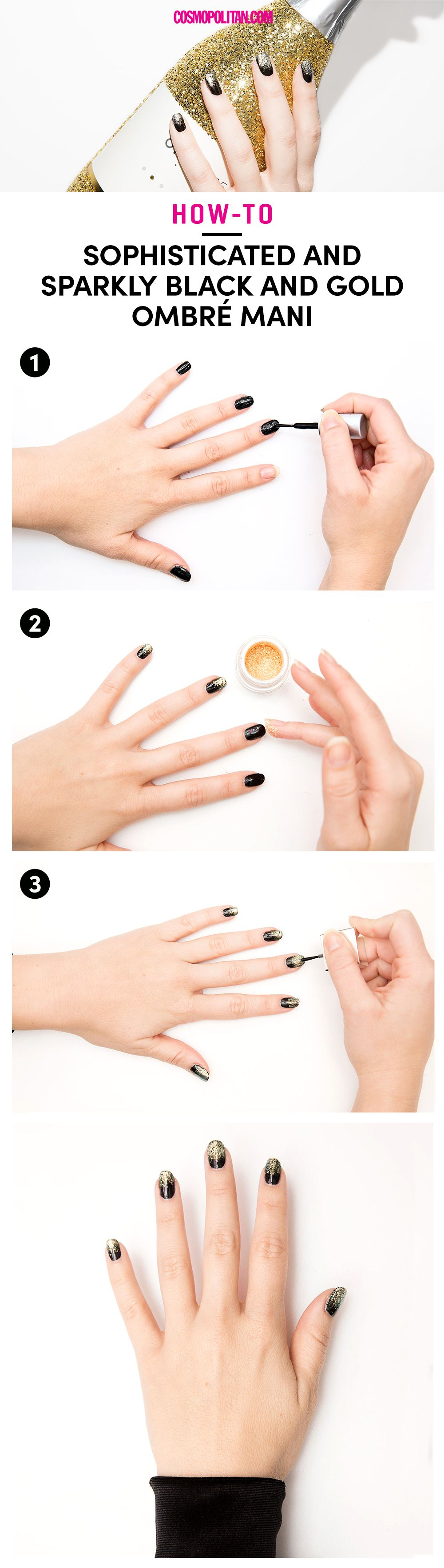 13 Cool New Years Eve Nail Designs Best Nye Nails