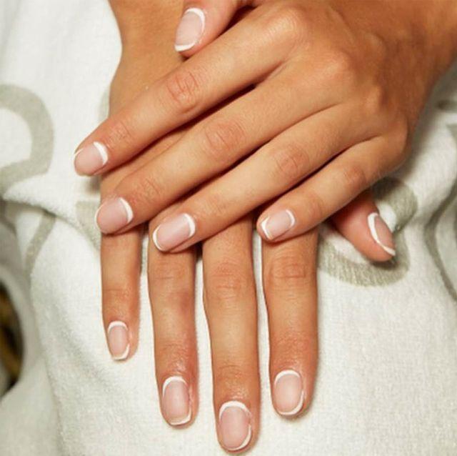 Manicure, Nail, Nail care, Nail polish, Finger, Cosmetics, Hand, Service, Material property, Glitter,